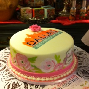 DBC cake at The Vintage House