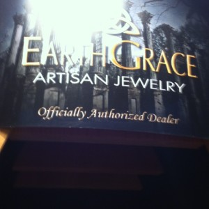 earth grace artisan jewelry at The Vintage House