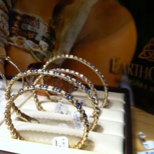 sparkly earth grace bracelets at The Vintage House